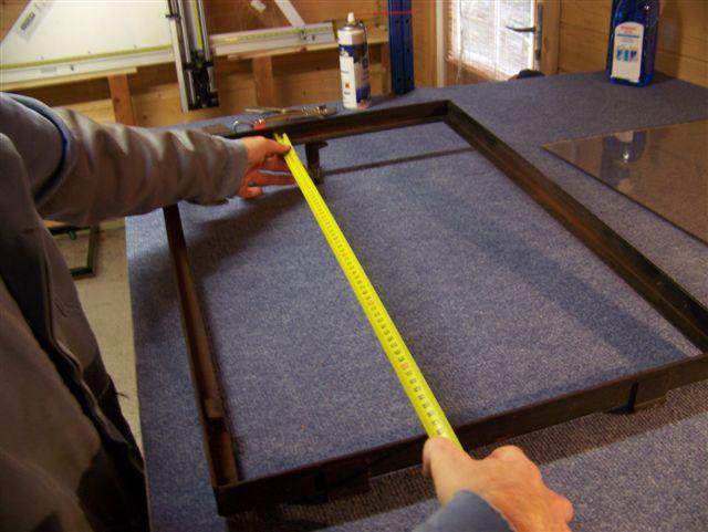 High Quality ... Nehmen Sie Die Inneren Maße Des Türrahmens Und Ziehen Von Jedem Rand  3mm Ab. Beispiel : Wenn Ihr Rahmen 650×420 Mm Beträgt, Müssen Sie Eine  Scheibe Mit ...